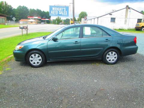 1999 Toyota Camry for sale at Wright's Auto Sales in Lancaster SC