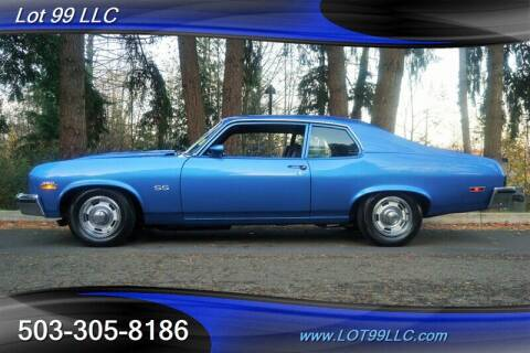 1973 Chevrolet Nova for sale at LOT 99 LLC in Milwaukie OR