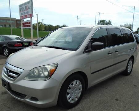 2007 Honda Odyssey for sale at AutoLink LLC in Dayton OH