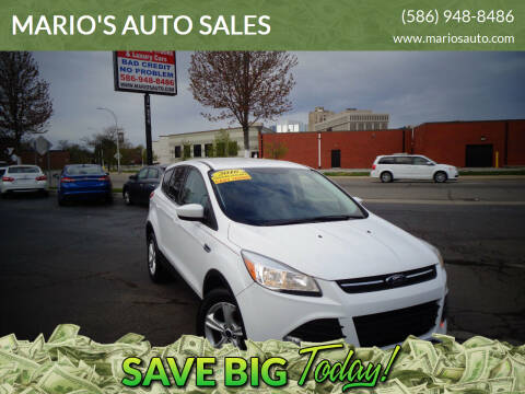 2016 Ford Escape for sale at MARIO'S AUTO SALES in Mount Clemens MI