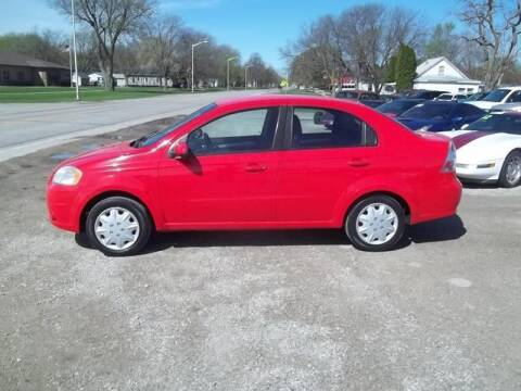 2011 Chevrolet Aveo for sale at BRETT SPAULDING SALES in Onawa IA