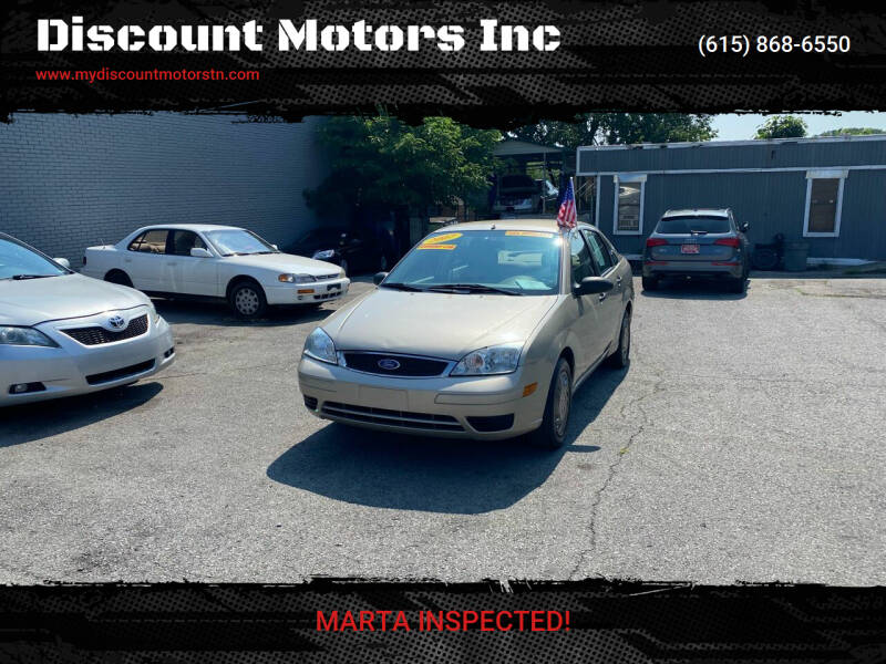 2007 Ford Focus for sale at Discount Motors Inc in Madison TN