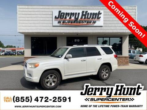2011 Toyota 4Runner for sale at Jerry Hunt Supercenter in Lexington NC
