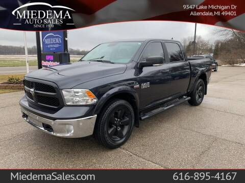 2018 RAM Ram Pickup 1500 for sale at Miedema Auto Sales in Allendale MI
