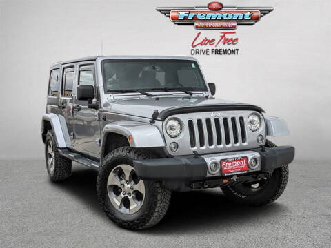 2017 Jeep Wrangler Unlimited for sale at Rocky Mountain Commercial Trucks in Casper WY