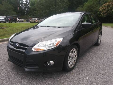 2012 Ford Focus for sale at Final Auto in Alpharetta GA