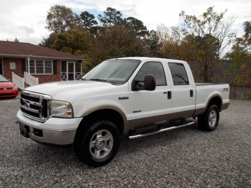2007 Ford F-250 Super Duty for sale at Carolina Auto Connection & Motorsports in Spartanburg SC