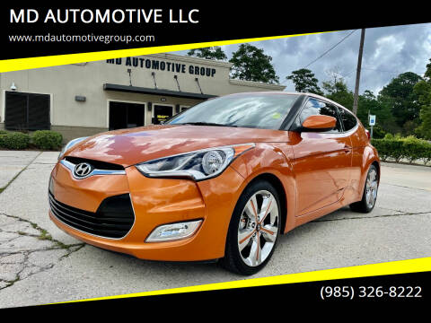 2016 Hyundai Veloster for sale at MD AUTOMOTIVE LLC in Slidell LA