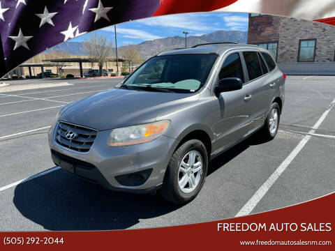 2011 Hyundai Santa Fe for sale at Freedom Auto Sales in Albuquerque NM