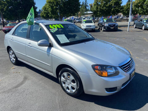 2009 Kia Spectra for sale at Pacific Point Auto Sales in Lakewood WA