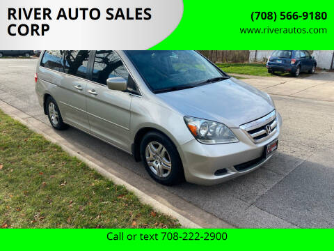 2006 Honda Odyssey for sale at RIVER AUTO SALES CORP in Maywood IL