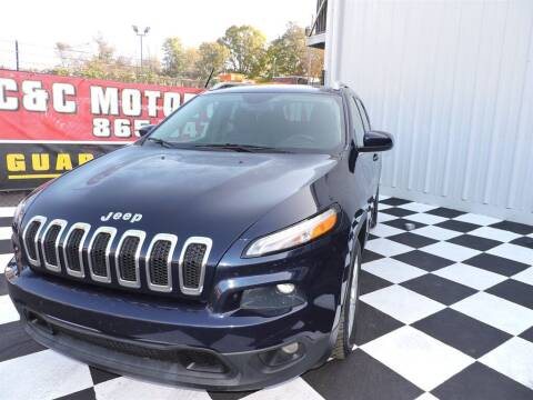 2015 Jeep Cherokee for sale at C & C Motor Co. in Knoxville TN