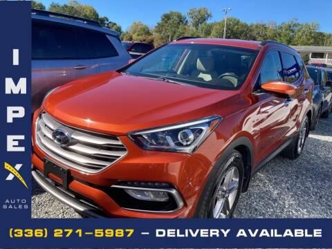2017 Hyundai Santa Fe Sport for sale at Impex Auto Sales in Greensboro NC