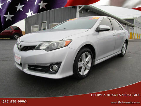2013 Toyota Camry for sale at Lifetime Auto Sales and Service in West Bend WI