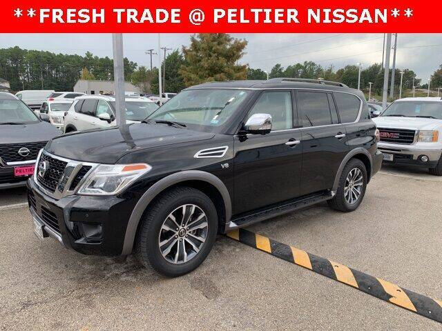 2020 Nissan Armada for sale at TEX TYLER Autos Cars Trucks SUV Sales in Tyler TX