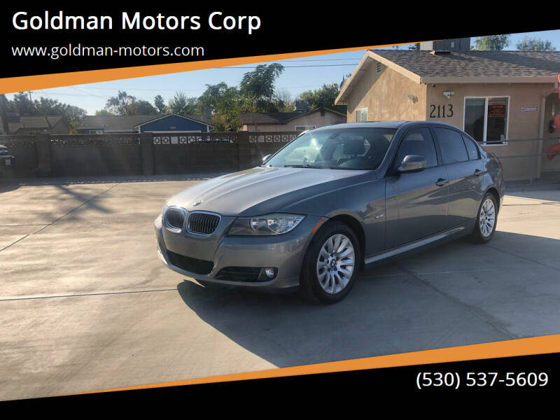 2009 BMW 3 Series for sale at Goldman Motors Corp in Stockton CA