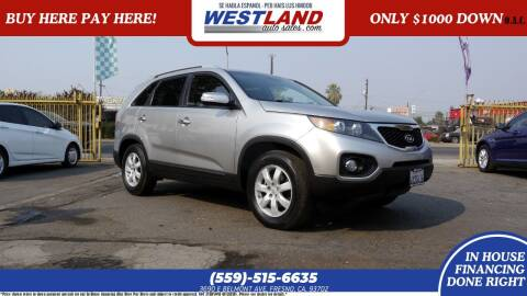 2013 Kia Sorento for sale at Westland Auto Sales on 7th in Fresno CA