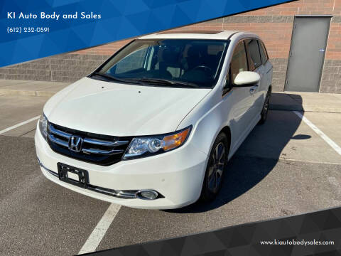 2016 Honda Odyssey for sale at KI Auto Body and Sales in Lino Lakes MN
