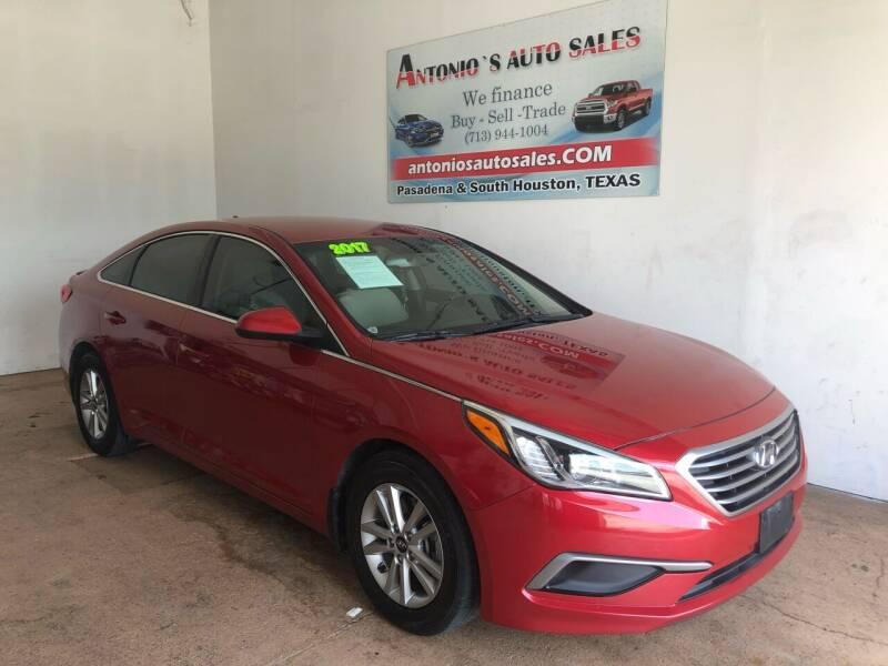 2017 Hyundai Sonata for sale at Antonio's Auto Sales in South Houston TX