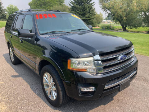 2015 Ford Expedition for sale at BELOW BOOK AUTO SALES in Idaho Falls ID
