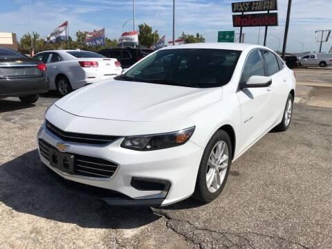 2018 Chevrolet Malibu for sale at Ital Auto in Oklahoma City OK