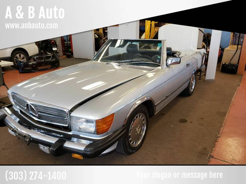 1987 Mercedes-Benz 560-Class for sale at A & B Auto in Lakewood CO