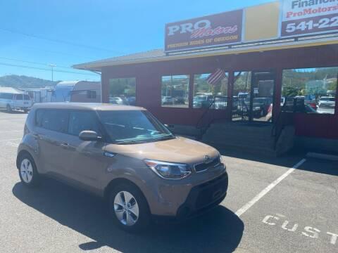 2016 Kia Soul for sale at Pro Motors in Roseburg OR