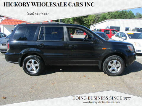 2008 Honda Pilot for sale at Hickory Wholesale Cars Inc in Newton NC