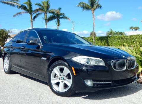 2013 BMW 5 Series for sale at VE Auto Gallery LLC in Lake Park FL