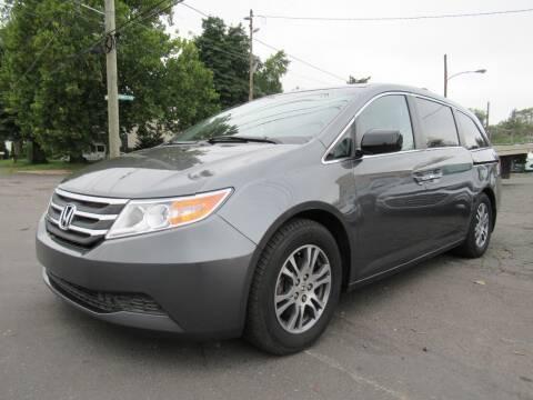 2013 Honda Odyssey for sale at PRESTIGE IMPORT AUTO SALES in Morrisville PA