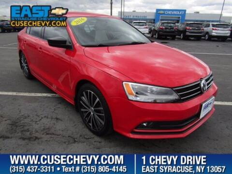 2016 Volkswagen Jetta for sale at East Syracuse Performance Sales & Service in Syracuse NY