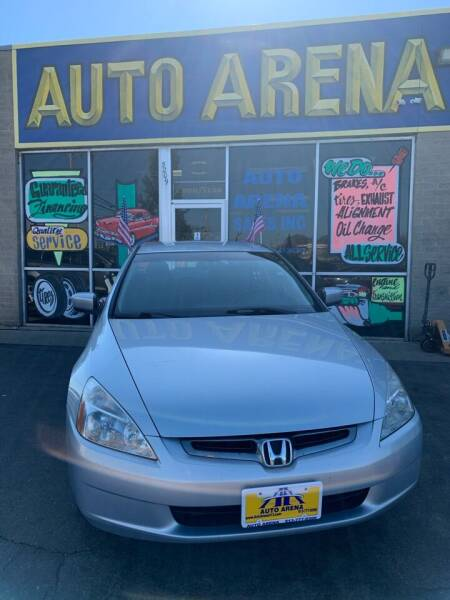 2005 Honda Accord for sale at Auto Arena in Fairfield OH