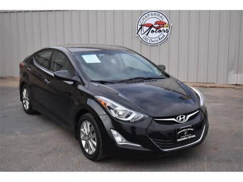 2014 Hyundai Elantra for sale at Chaparral Motors in Lubbock TX