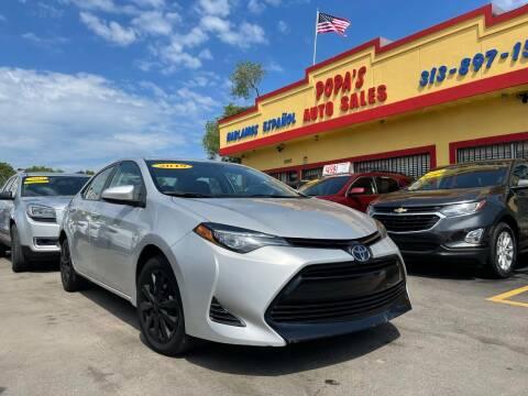 2019 Toyota Corolla for sale at Popas Auto Sales in Detroit MI