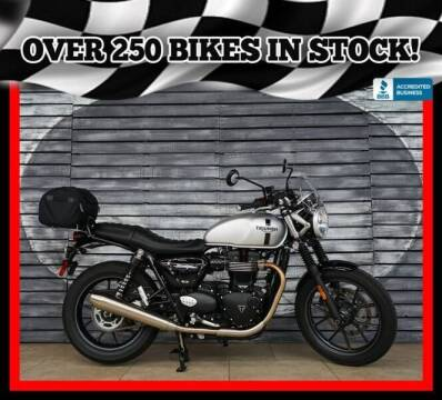 2018 Triumph Street Twin for sale at AZMotomania.com in Mesa AZ