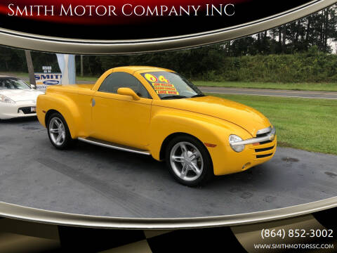 2004 Chevrolet SSR for sale at Smith Motor Company INC in Mc Cormick SC