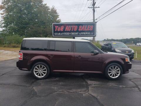 2011 Ford Flex for sale at T & G Auto Sales in Florence AL