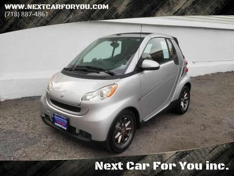 2008 Smart fortwo for sale at Next Car For You inc. in Brooklyn NY