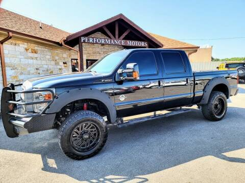 2016 Ford F-250 Super Duty for sale at Performance Motors Killeen Second Chance in Killeen TX