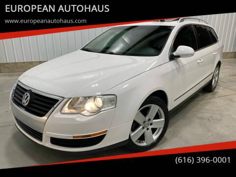2009 Volkswagen Passat for sale at EUROPEAN AUTOHAUS in Holland MI
