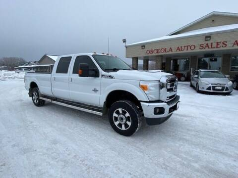 2012 Ford F-350 Super Duty for sale at Osceola Auto Sales and Service in Osceola WI