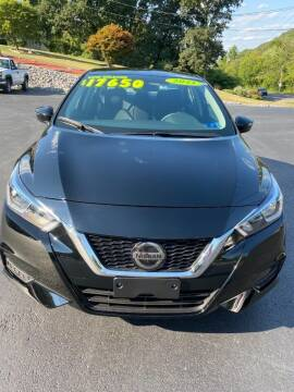 2021 Nissan Versa for sale at Route 28 Auto Sales in Ridgeley WV