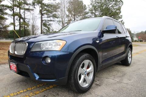 2011 BMW X3 for sale at Oak City Motors in Garner NC