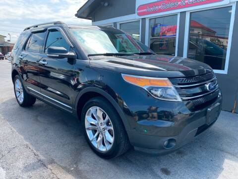 2014 Ford Explorer for sale at Martins Auto Sales in Shelbyville KY