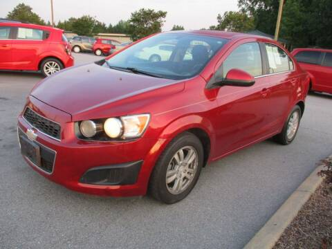 2014 Chevrolet Sonic for sale at Creech Auto Sales in Garner NC