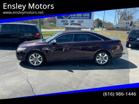 2011 Ford Taurus for sale at Ensley Motors in Allendale MI