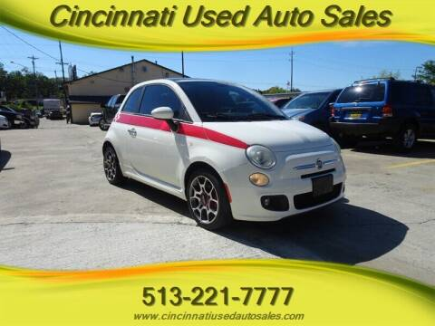 2012 FIAT 500 for sale at Cincinnati Used Auto Sales in Cincinnati OH