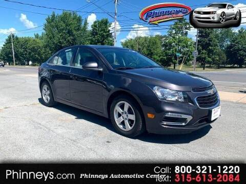 2016 Chevrolet Cruze Limited for sale at Phinney's Automotive Center in Clayton NY