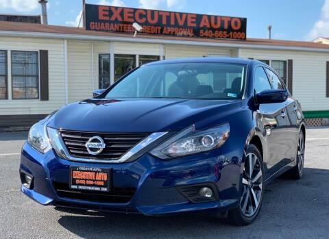 2017 Nissan Altima for sale at Executive Auto in Winchester VA