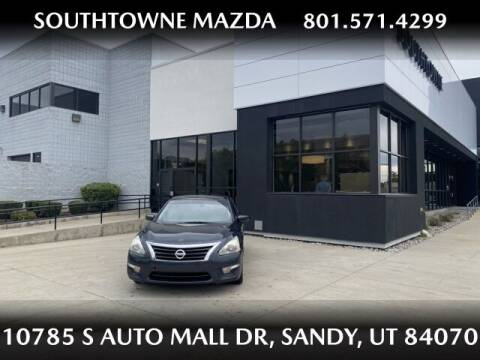 2014 Nissan Altima for sale at Southtowne Mazda of Sandy in Sandy UT